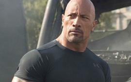 Dwayne Johnson Slammed For Photo Of Young Daughter At Swimming Pool