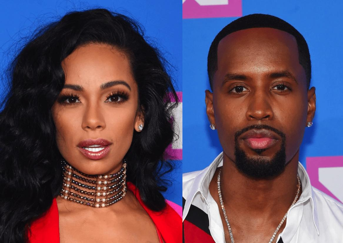 Erica Mena Shows Off Her Bomb Body At The Beach While Safaree Finally Finds His Match
