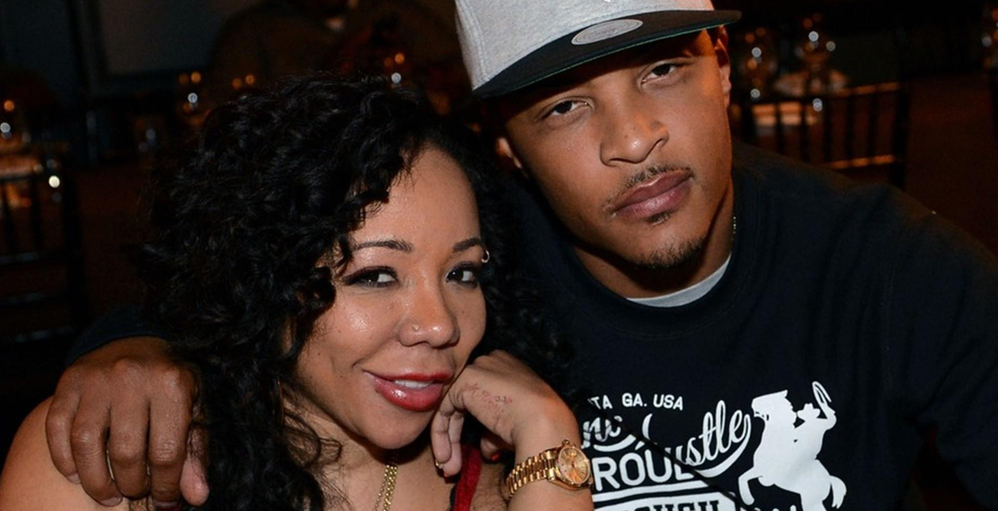 Gorgeous Tiny Harris Poses Next To A T.I. Poster And Has Fans Saying She's A 'Living Doll'