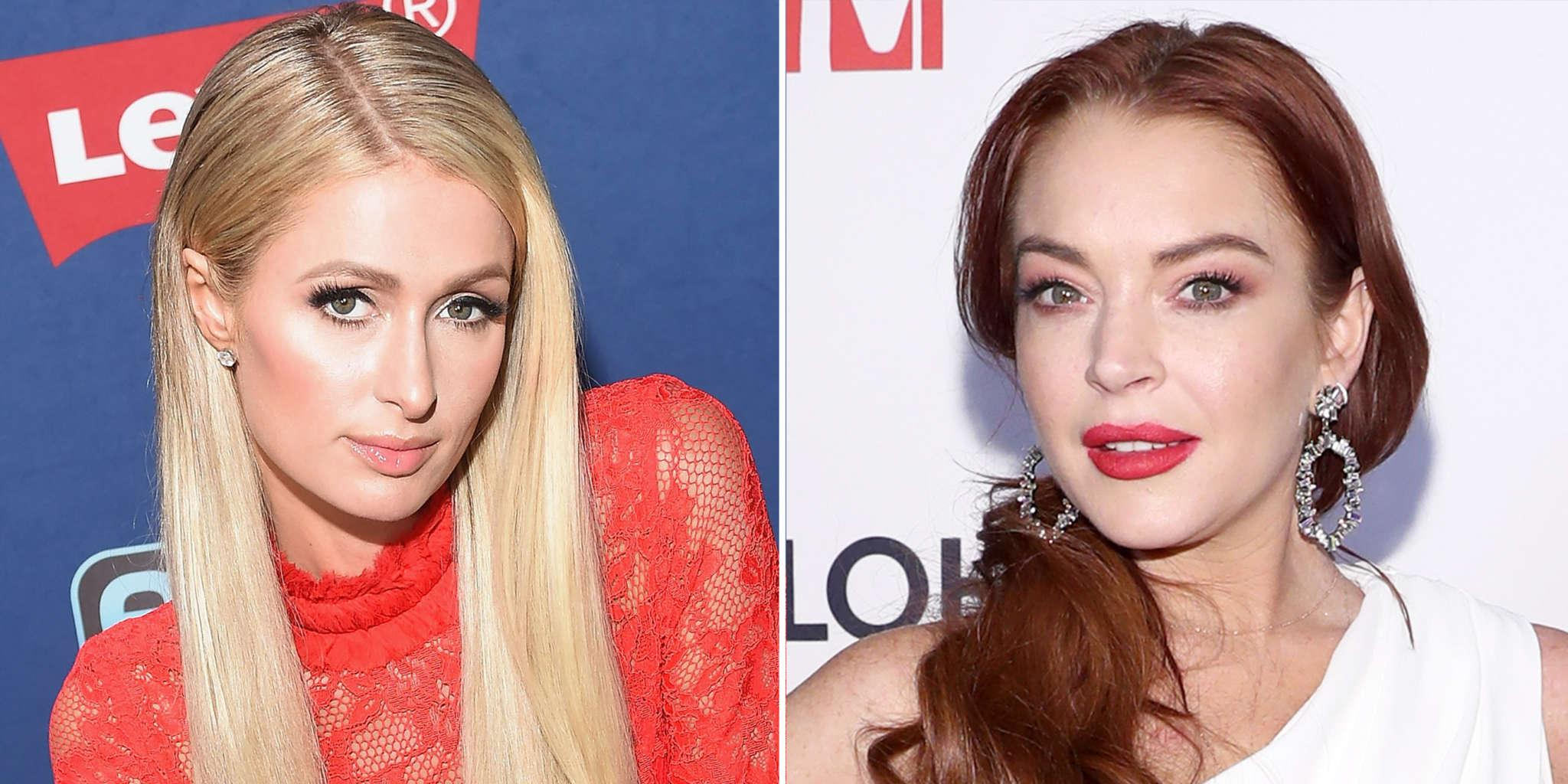 Lindsay Lohan Addresses The Speculations She And Paris Hilton Are Beefing Again
