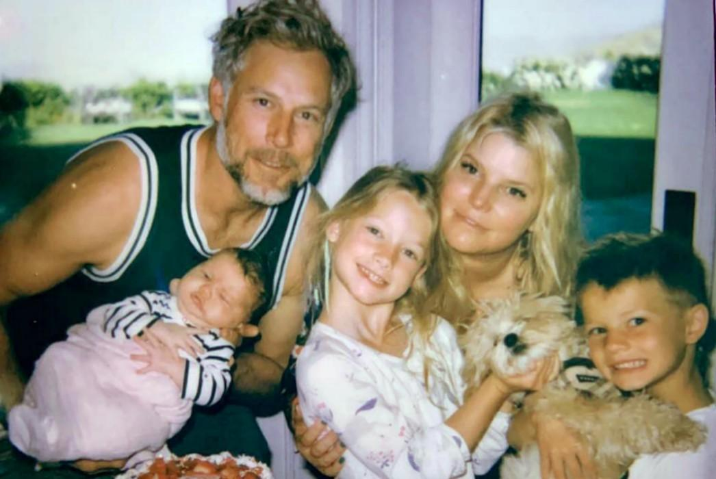 Jessica Simpson Shares Father's Day Message To Eric Johnson Along With New Photo Of Baby Birdie Mae