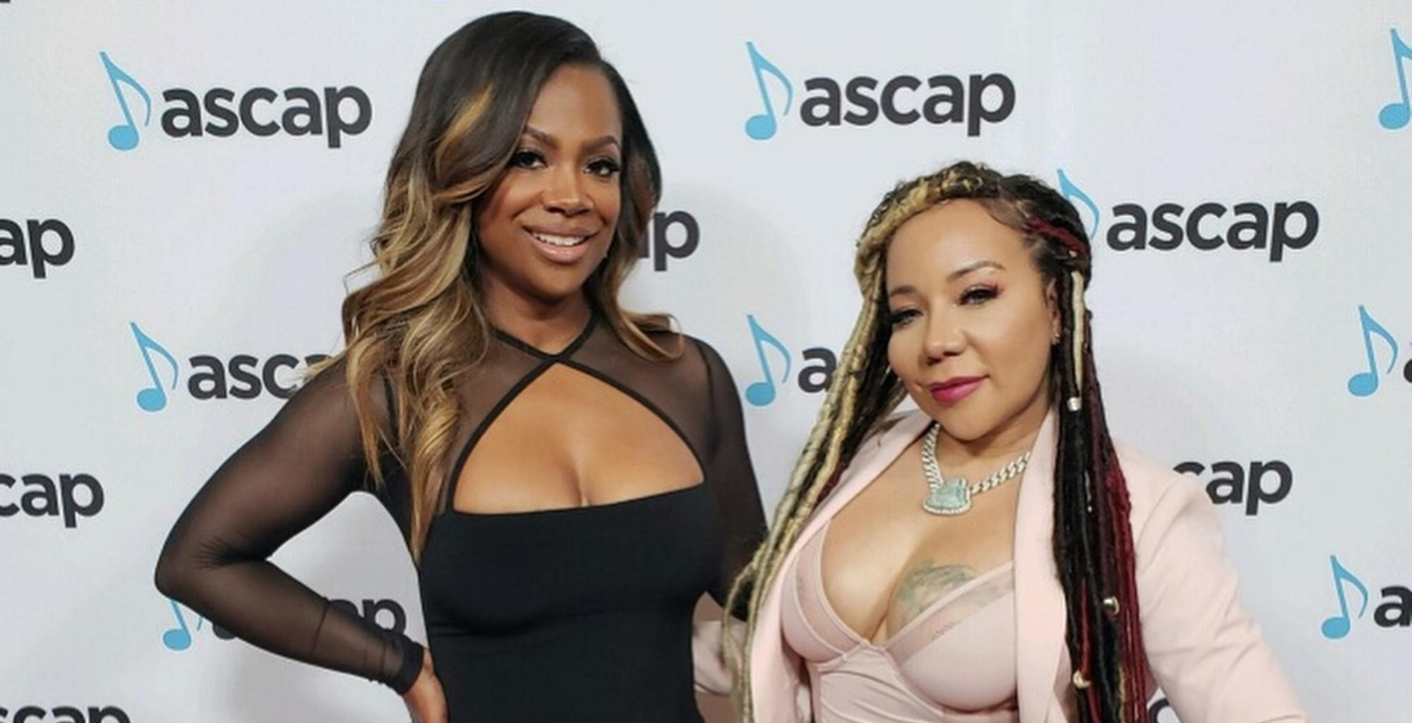 Tiny Harris And Fellow Xscape Diva Kandi Burruss Wear Stunning Pink Bathing Suits On Family Vacations With T.I. And Todd Tucker -- Fans Love The Pictures