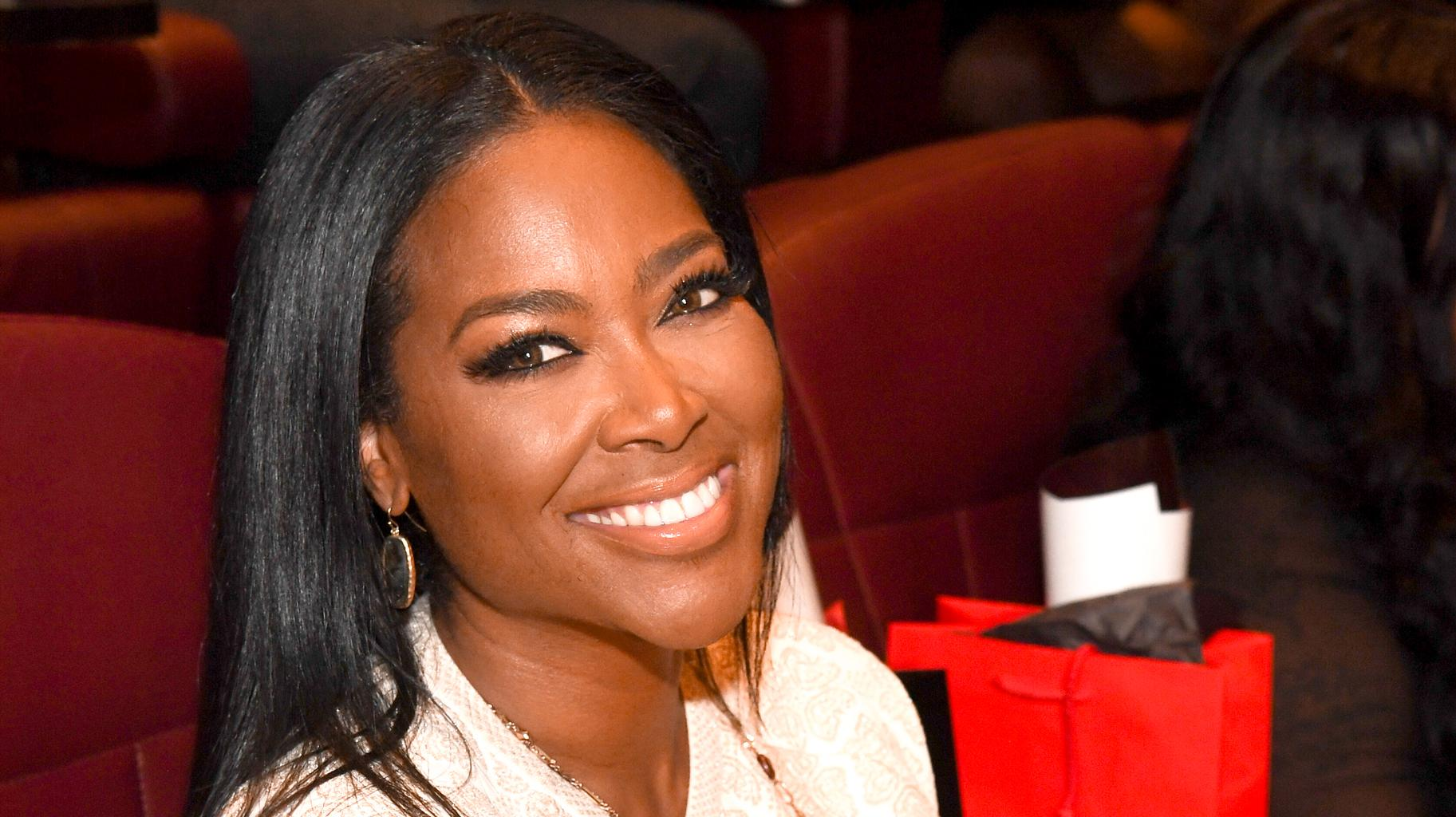 Kenya Moore's Latest Video With Baby Brooklyn Shows The Baby Girl Getting Excited When She Hears The Word 'Mommy' - Watch It Here