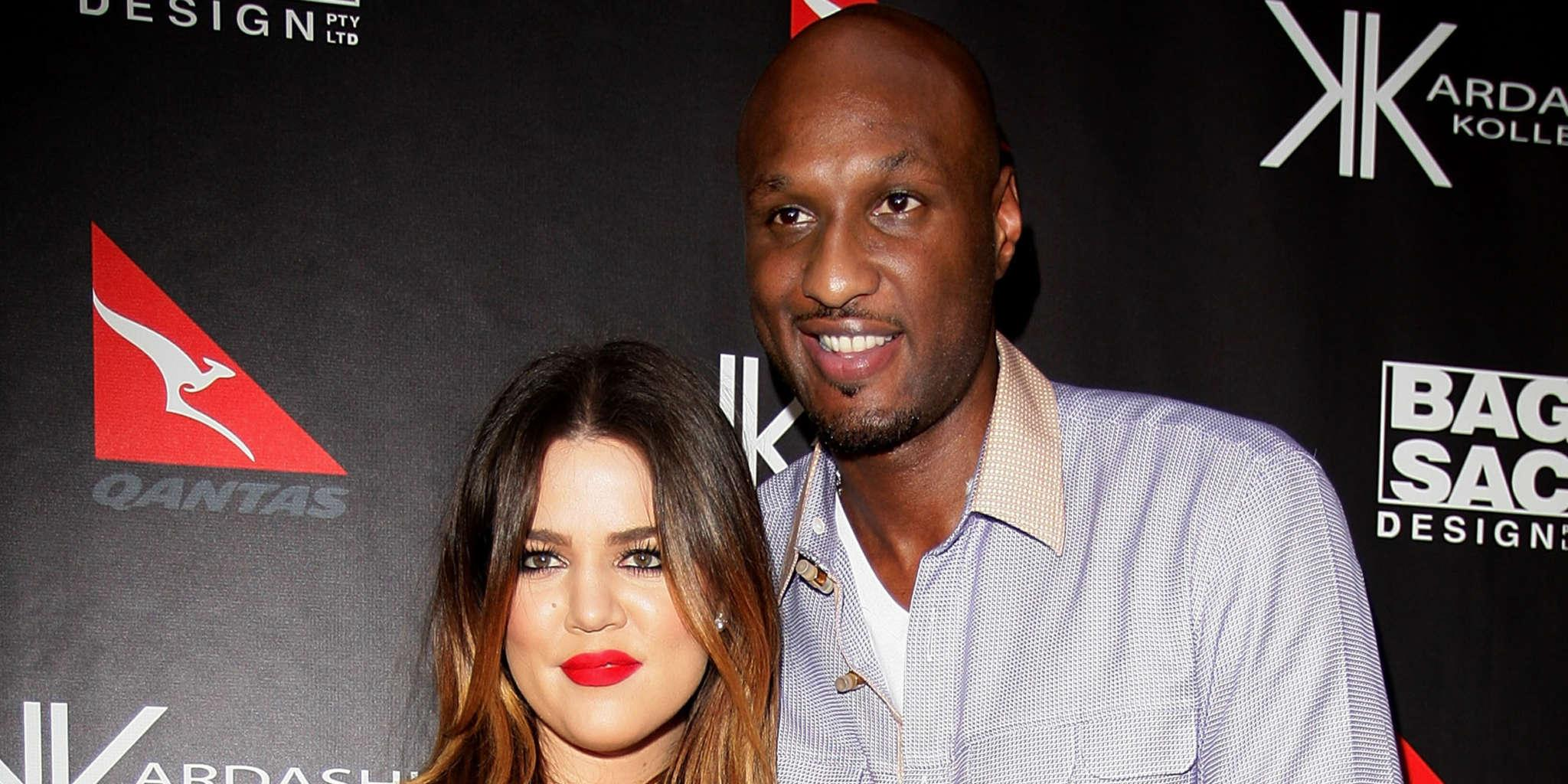 Khloe Kardashian Gushes Over Lamar Odom And Fans Are Crazy With Excitement