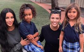 Kourtney And Kim Kardashian Give Fans Inside Look At Penelope And North's Lavish Candy Land-Themed Birthday Party