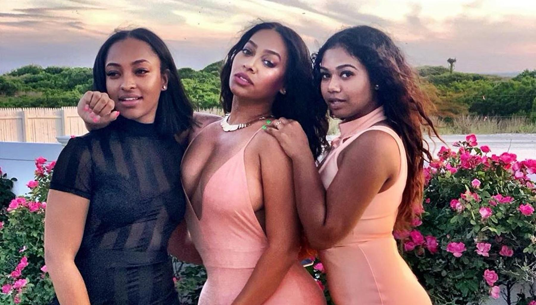 La La Anthony's Killer Curves In A Bathing Picture Is Overshadowed By Super Stunning Cousins
