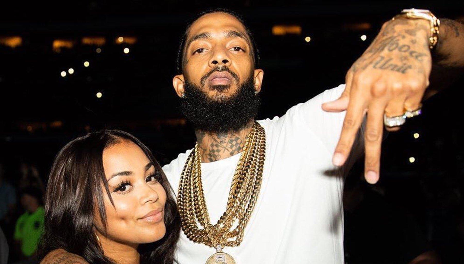 Lauren London Shares Her Promise To Nipsey Hussle With Her Fans And Tiny Harris Offers Her Support