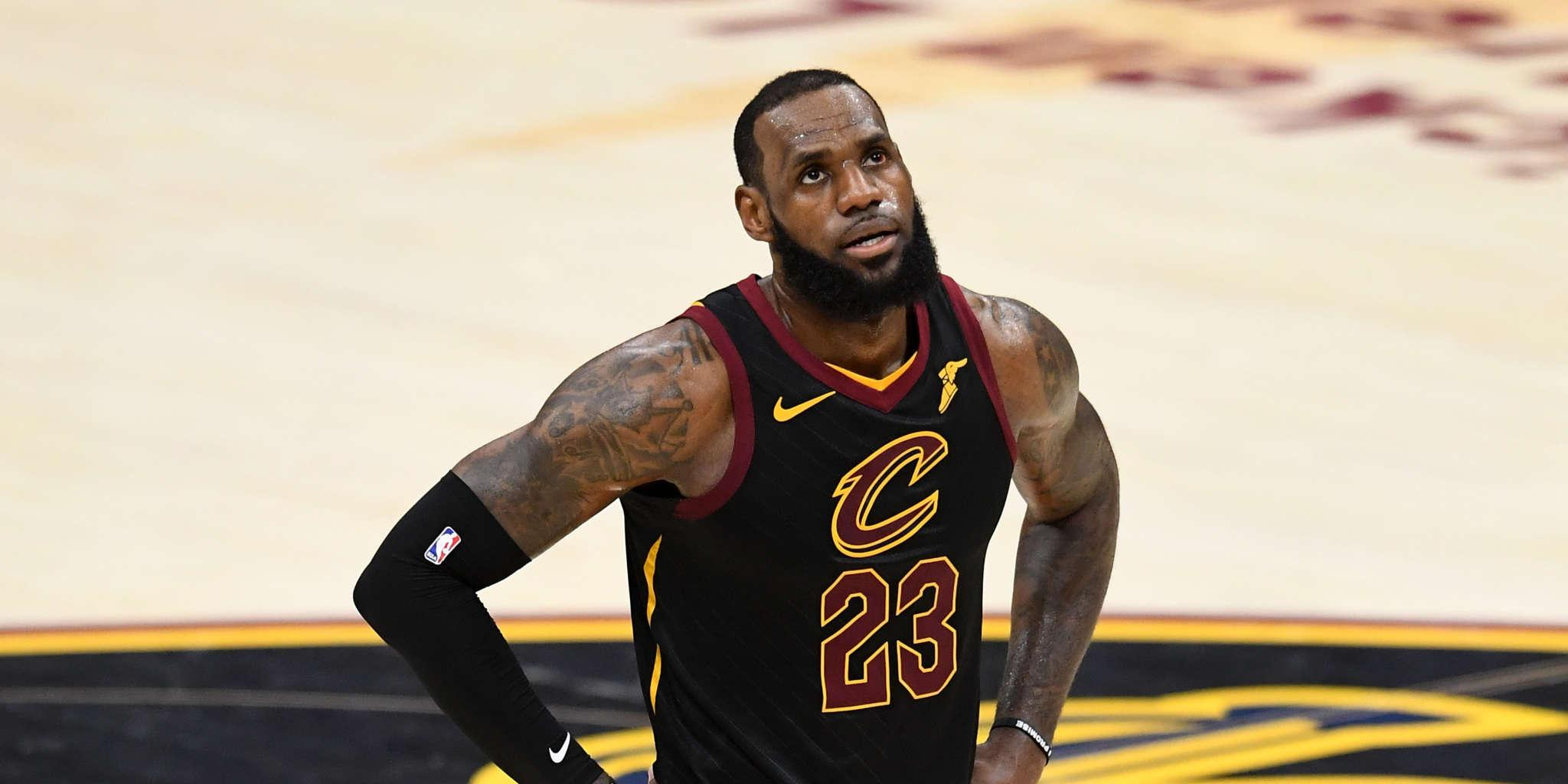 Angry LeBron James Sets Some Things Straight Regarding A Recent Game