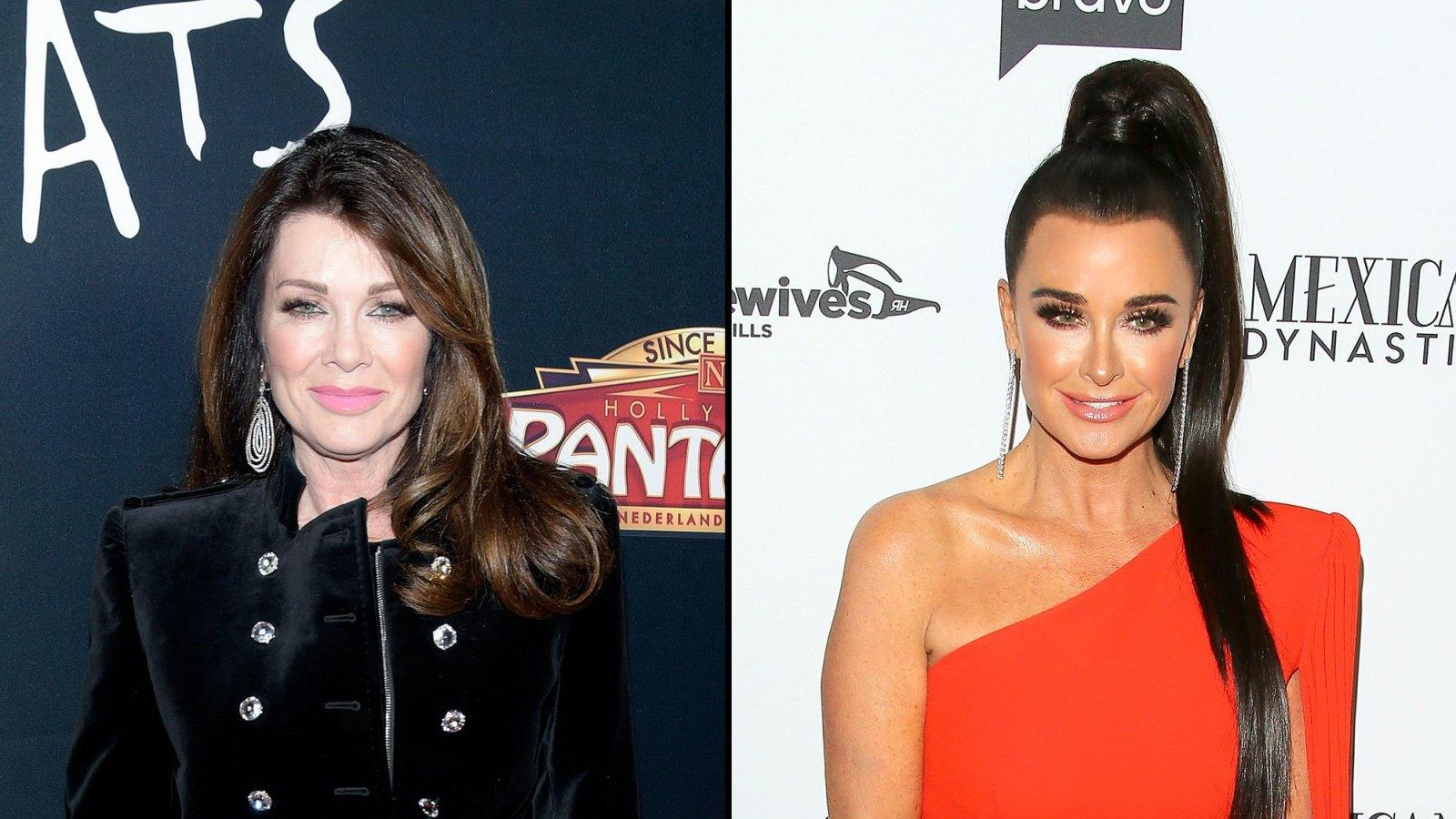 Lisa Vanderpump - Here's How She Reacted To Being Called A Liar By Nemesis Kyle Richards!
