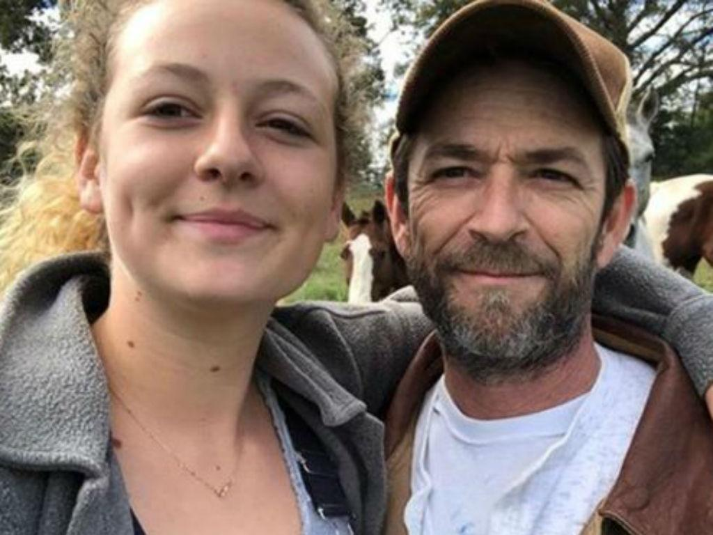 Luke Perry's Daughter Sophie Shares Rare Family Photos As First Father's Day Without Late Actor Looms