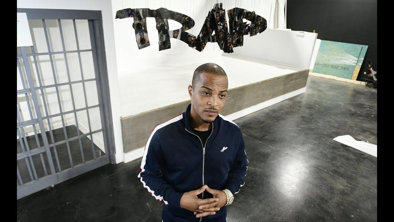 T.I. Invited Fans At The Lil Trap House Powered By The Trap Music Museum - See His Video