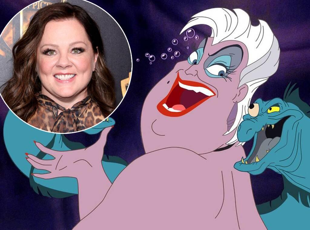 Melissa McCarthy Reportedly In Talks With Disney To Portray Iconic Villain Ursula In The Upcoming Live-Action Remake Of The Little Mermaid