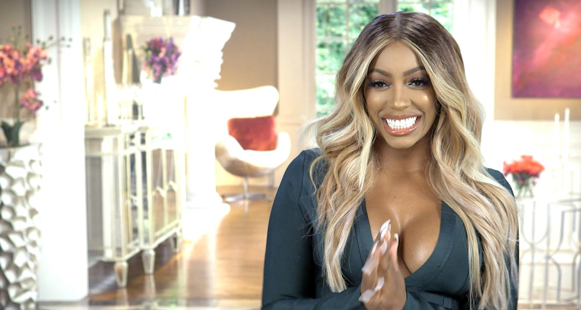 Porsha Williams Shows Baby Pilar Jhena With Ponytails In The Sweetest Video