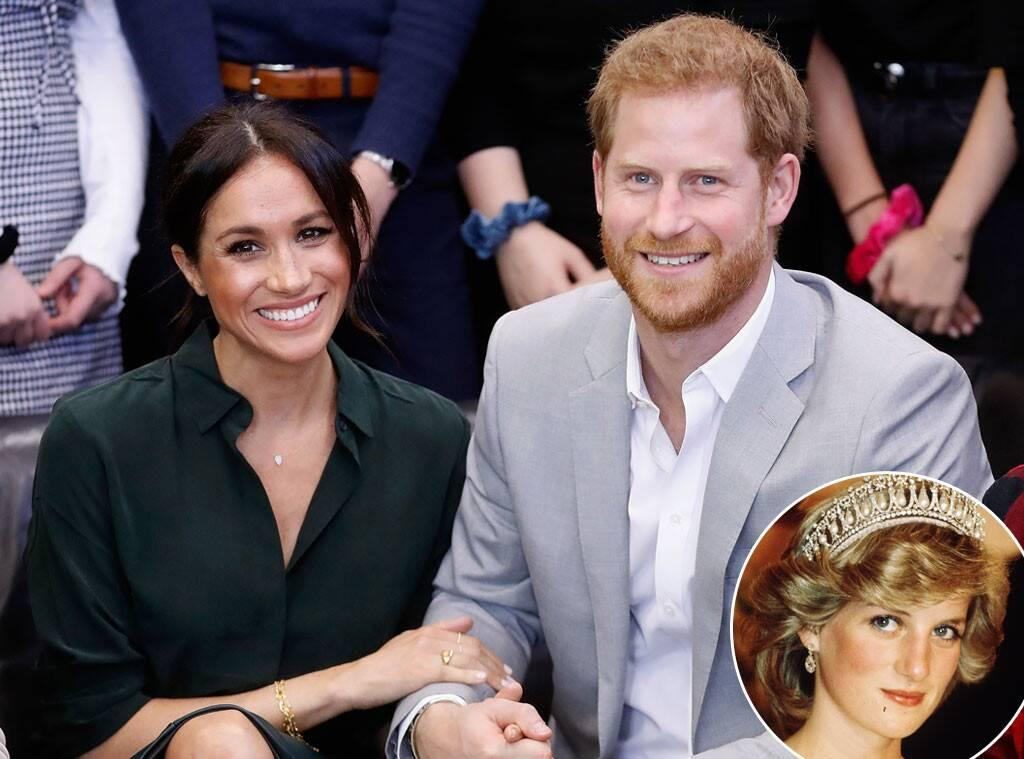 Prince Harry And Meghan Markle Pay Tribute To Princess Diana While Celebrating Pride Month