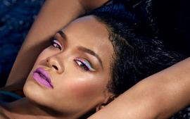 Rihanna Stuns In New Photo For Fenty Beauty As She Launches 6-19 Clothing Line