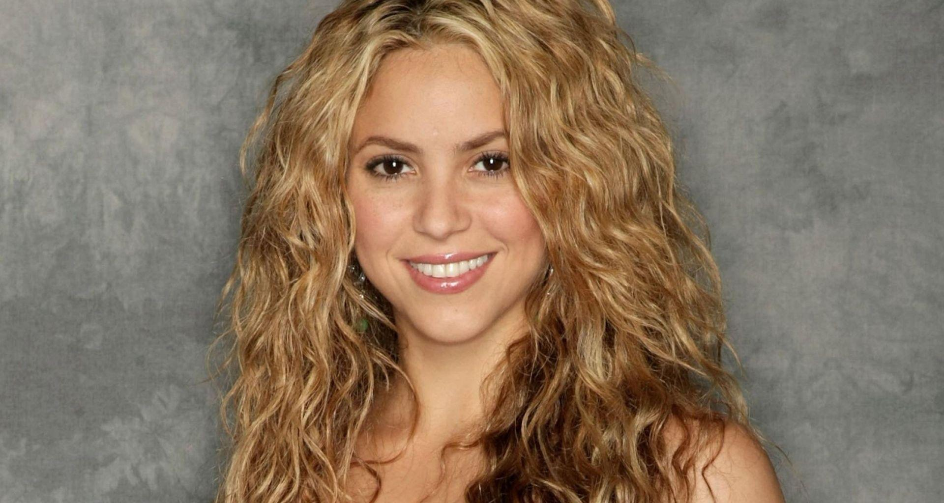 Shakira Looks Incredible At 42 In Self-Designed Pink Tasseled Bathing Suit - Check Out The Clip!