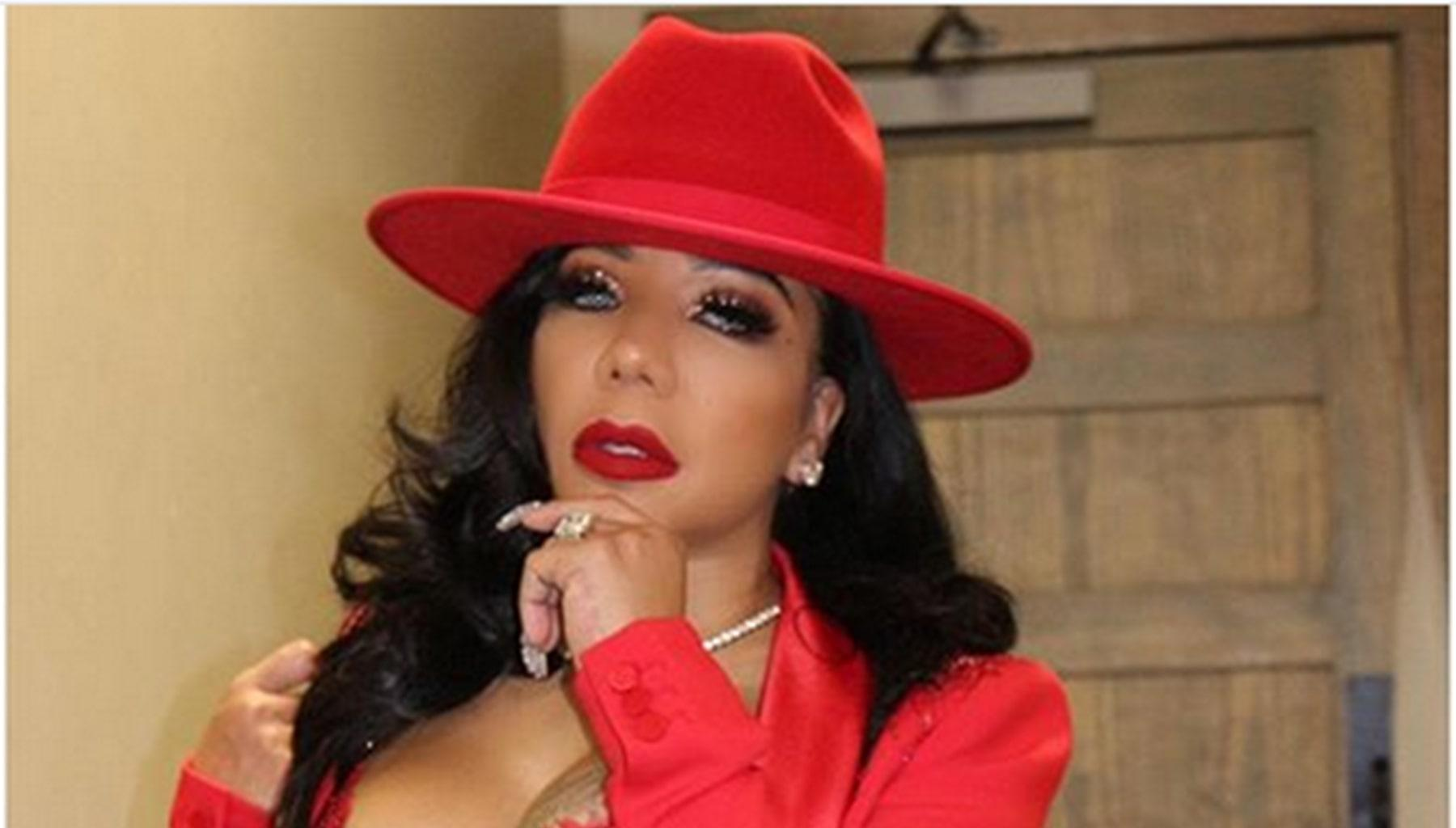 Tiny Harris Brings Out Her Spicy Alter Ego Out For A Solo Performance -- Pictures Show That Toya Wright And LeToya Luckett Were Present For The Sensual Event