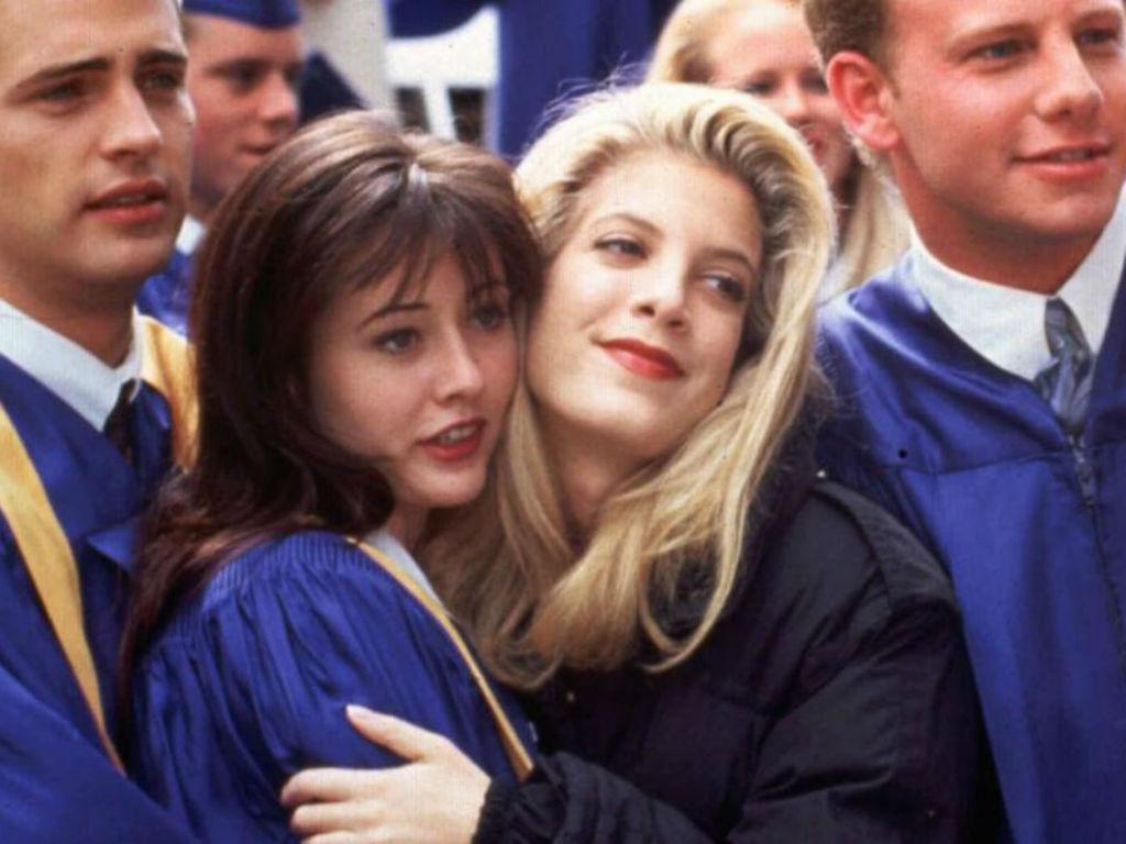 Tori Spelling Sets The Record Straight On Feud With Beverly Hills 90210 Costar Shannen Doherty