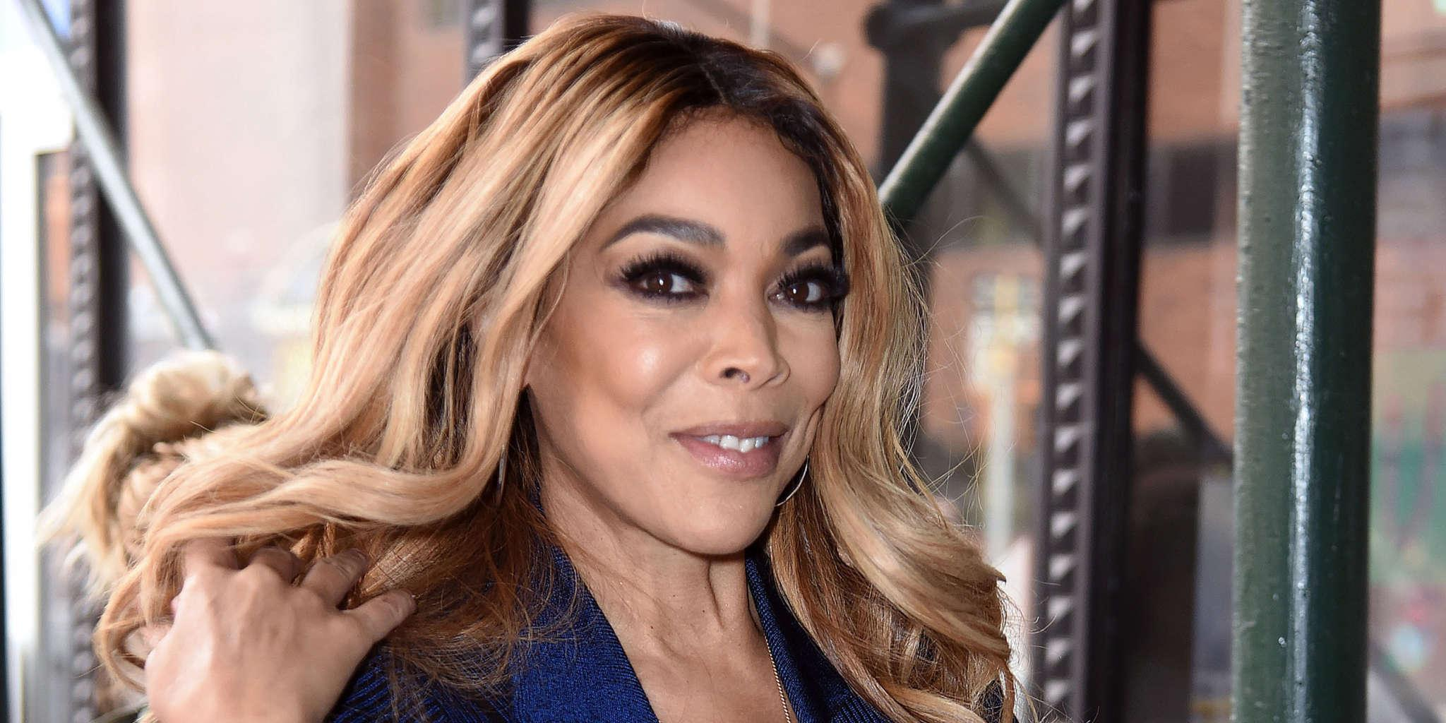 Wendy Williams Puts Her Long Legs On Display In Little Black Dress While Out With Her New Beau!