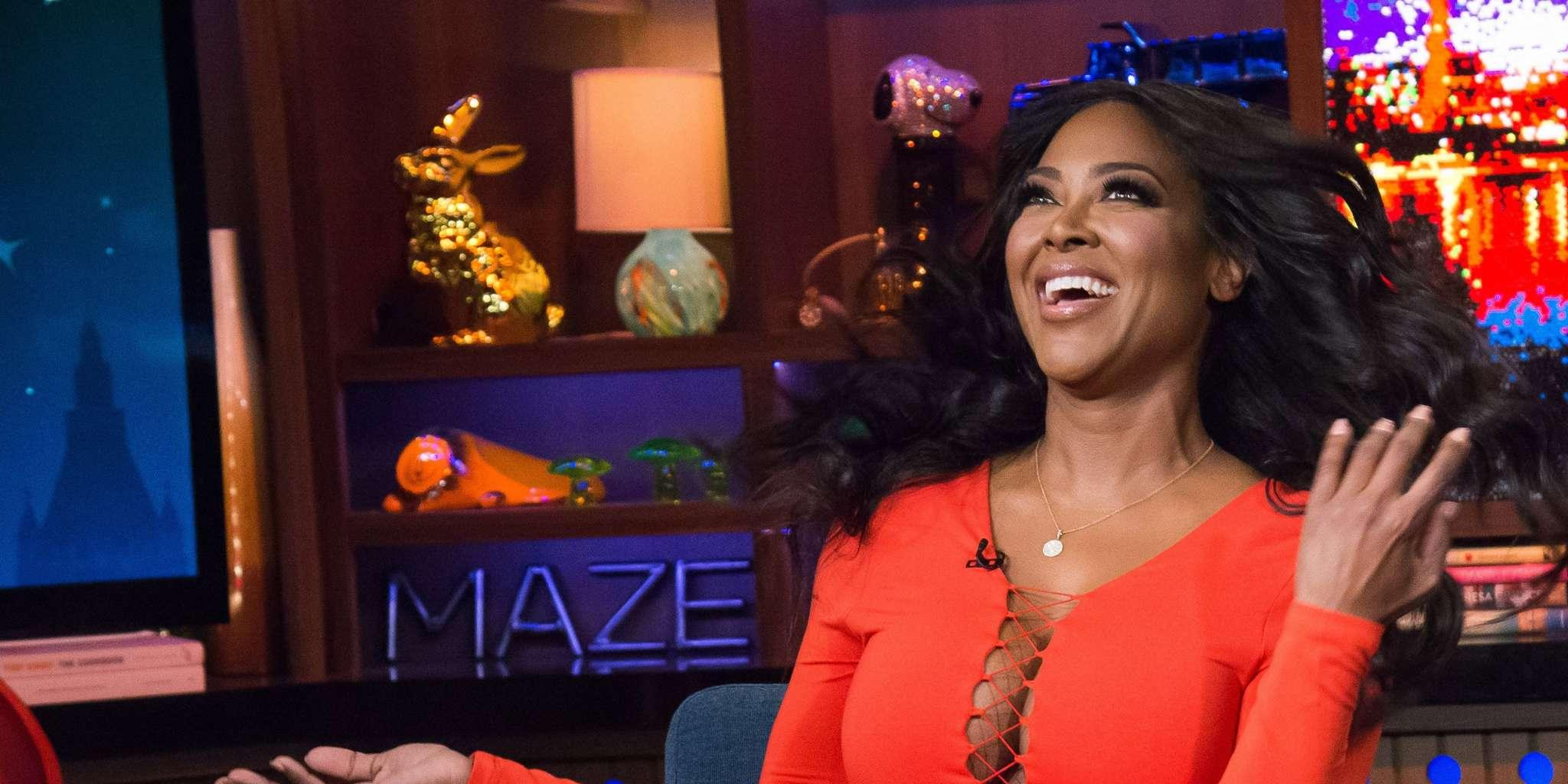 Kenya Moore Slays A Pink Suit And Fans Cannot Have Enough Of The 'Black Barbie'