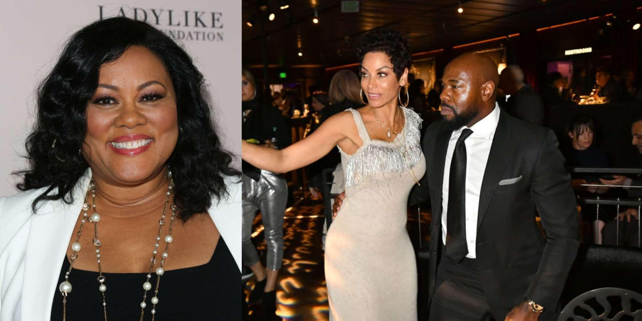 Nicole Murphy Has Been Photographed Kissing Director Antoine Fuqua Who Is Married - She Addresses The Photos, Saying That They Are Just 'Family Friends'