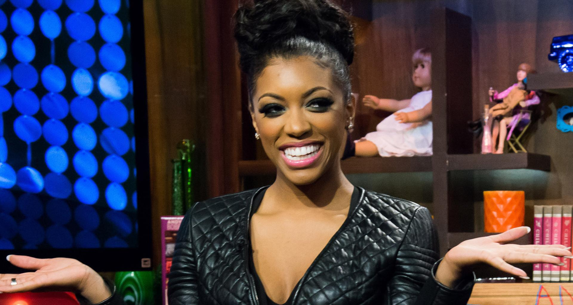 Porsha Williams Shares A Throwback Pic From When She Used To Dress Like A Boy