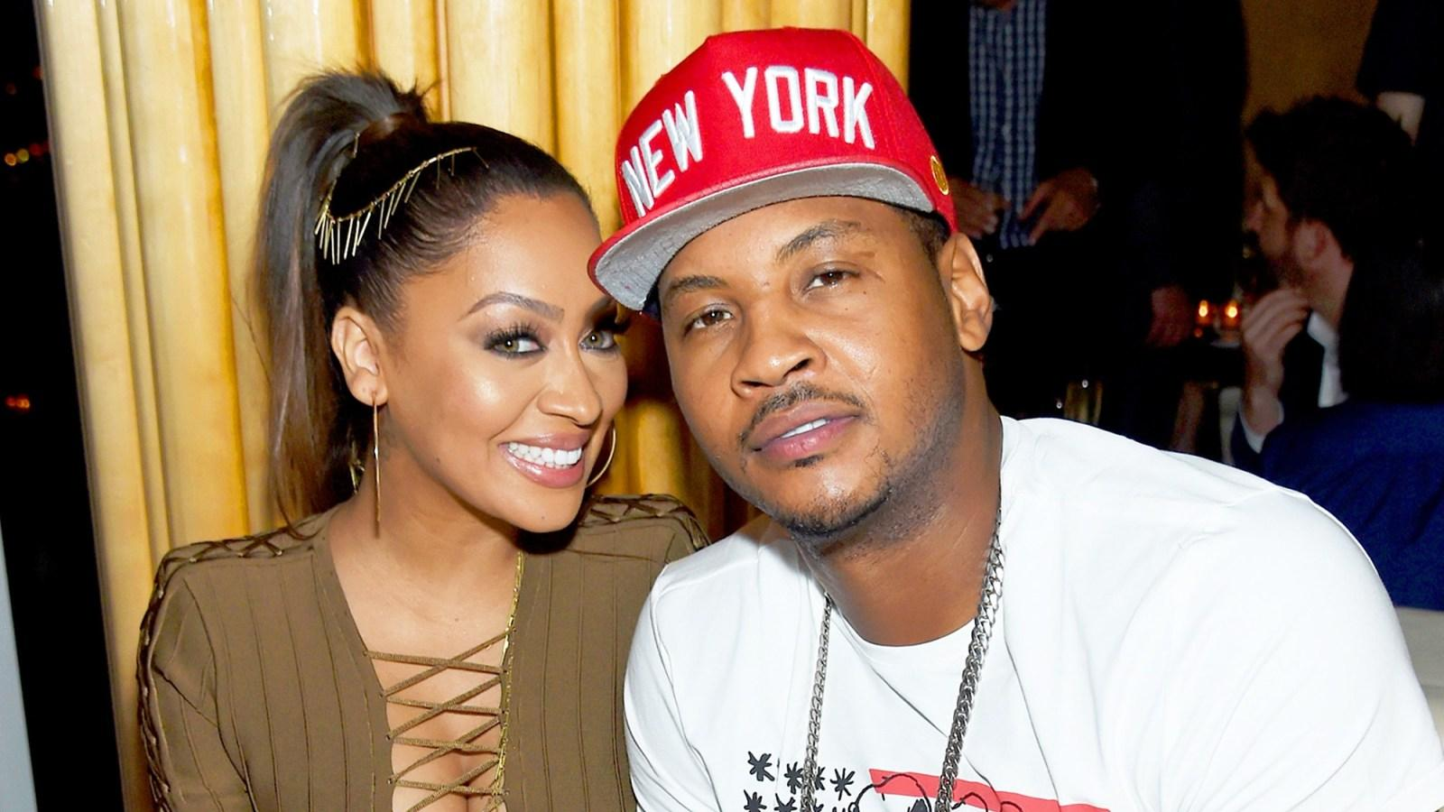 La La Anthony Confirms She's Making Moves To Be Legally Separated From Carmelo Anthony