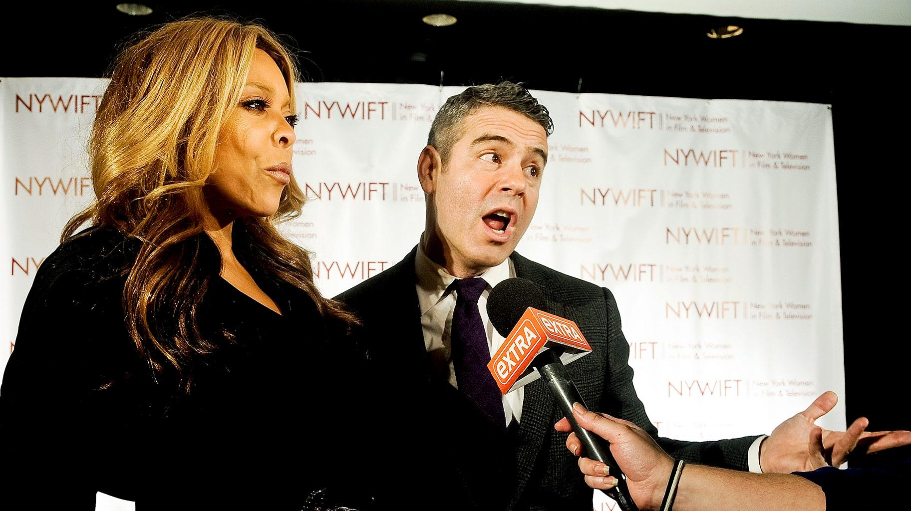 Andy Cohen Revealed What He Said In A Note To Wendy Williams After News Of Divorce Broke