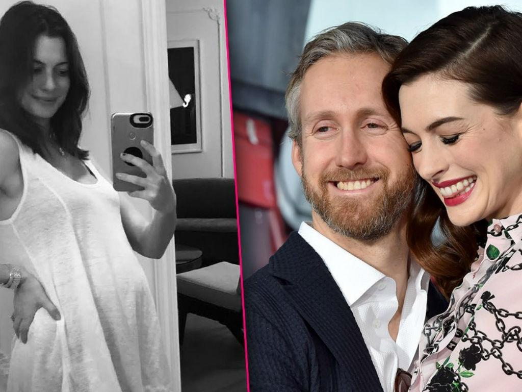 Anne Hathaway Pregnant Actress Expecting Second Child With Husband Adam Adam Shulman - Hints At Infertility Struggle
