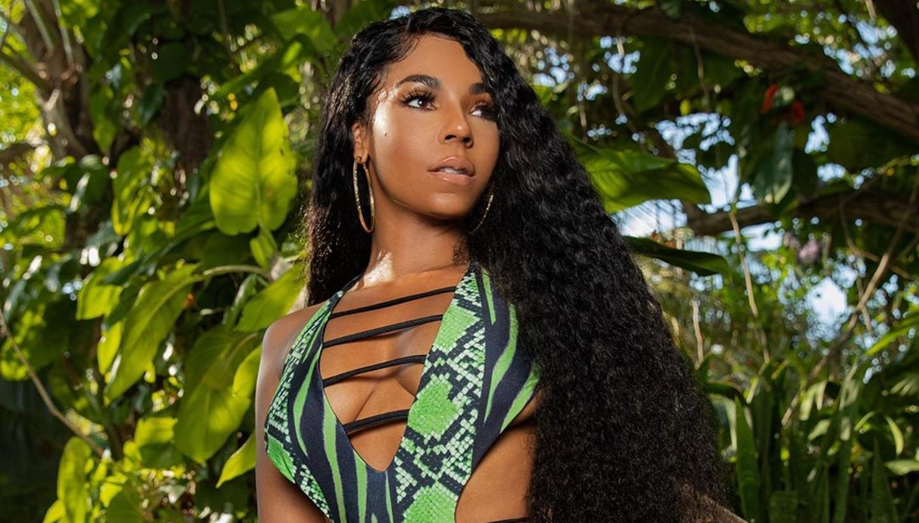 Ashanti Looks Like A Teenager In Photo Without Makeup, She Gave Her Secret To Looking So Fabulous