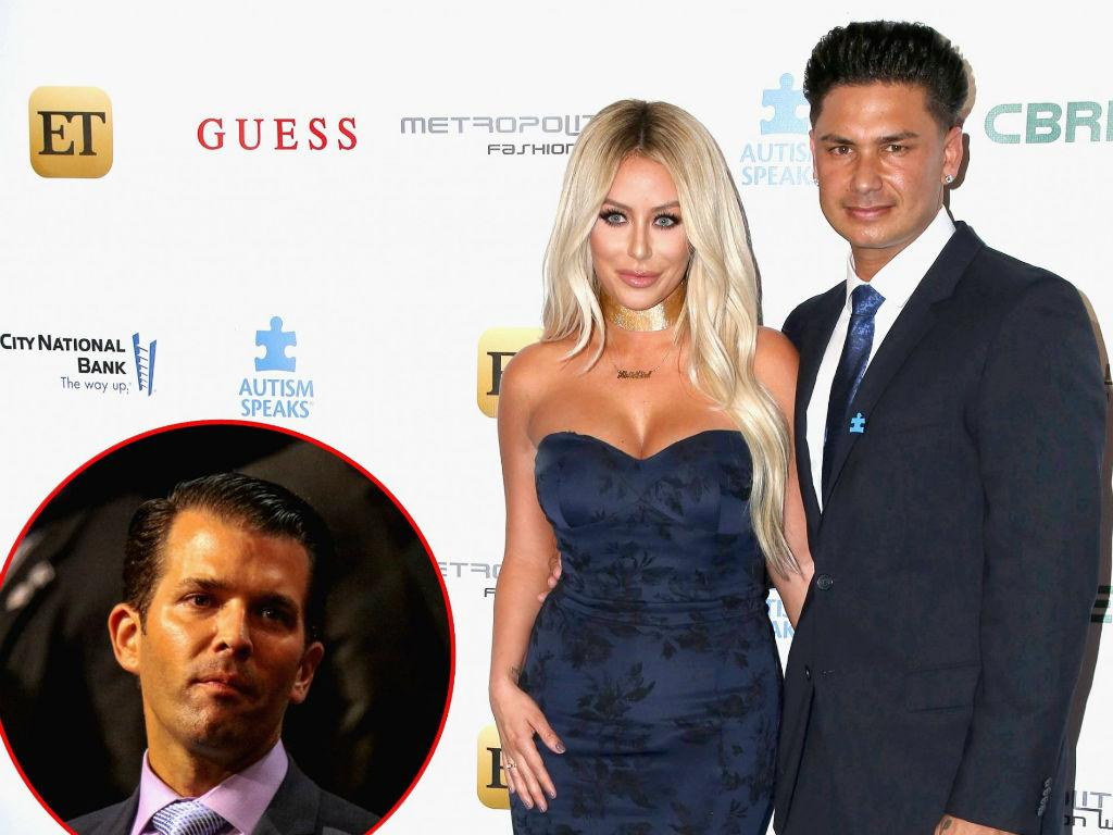 Aubrey O'Day Dishes Donald Trump Jr. And Pauly D Romances – Labels One Relationship 'Torturous'