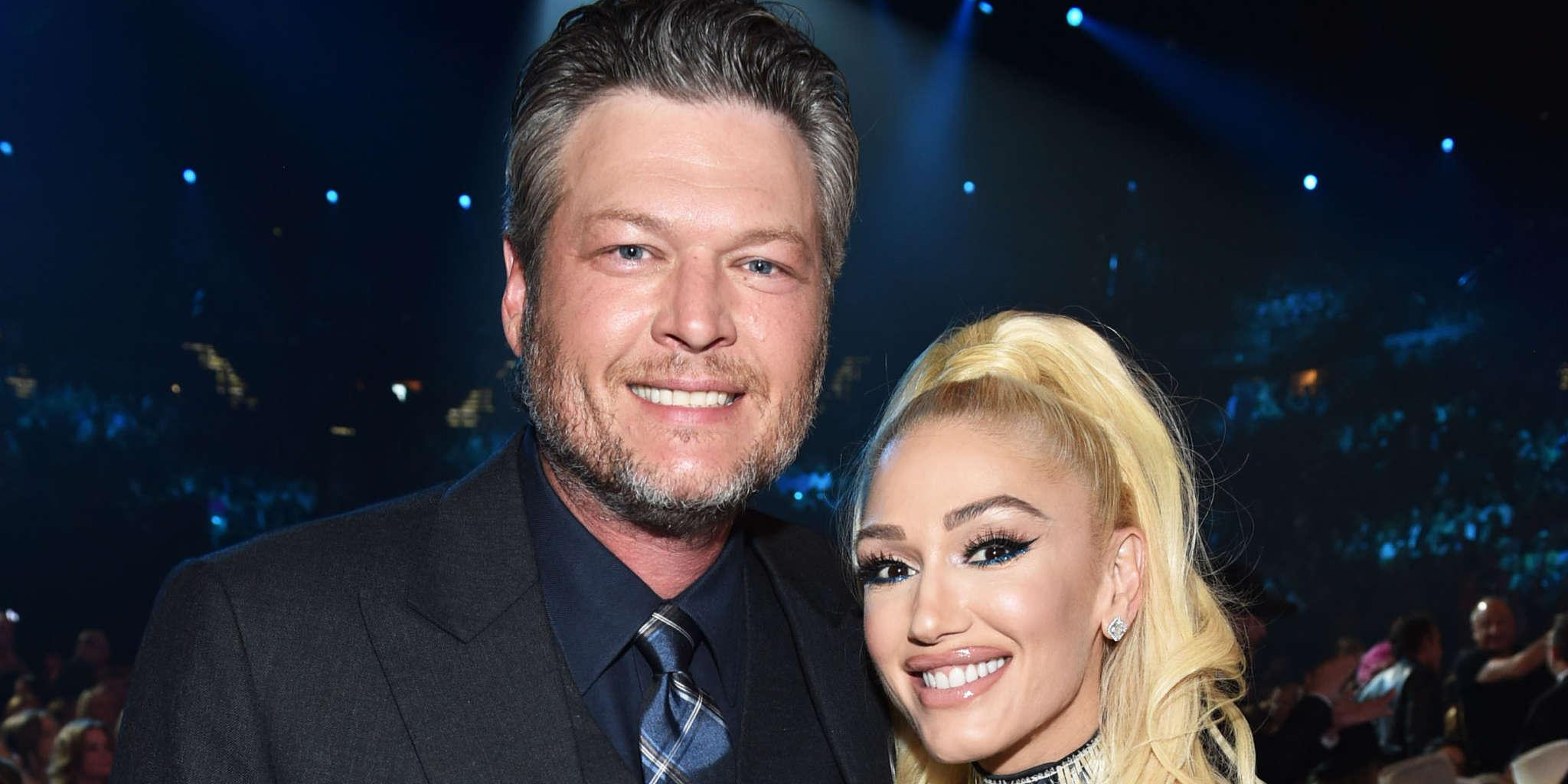 Gwen Stefani And Blake Shelton Share Intimate Kiss In New Picture