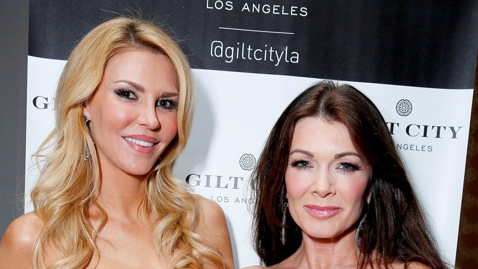 Brandi Glanville Drags 'Clown' Lisa Vanderpump And Suggests She Wants To Replace Her On RHOBH!