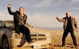 Aaron Paul Posts Cryptic Photo With Bryan Cranston And Breaking Bad Fans Are Losing Their Minds