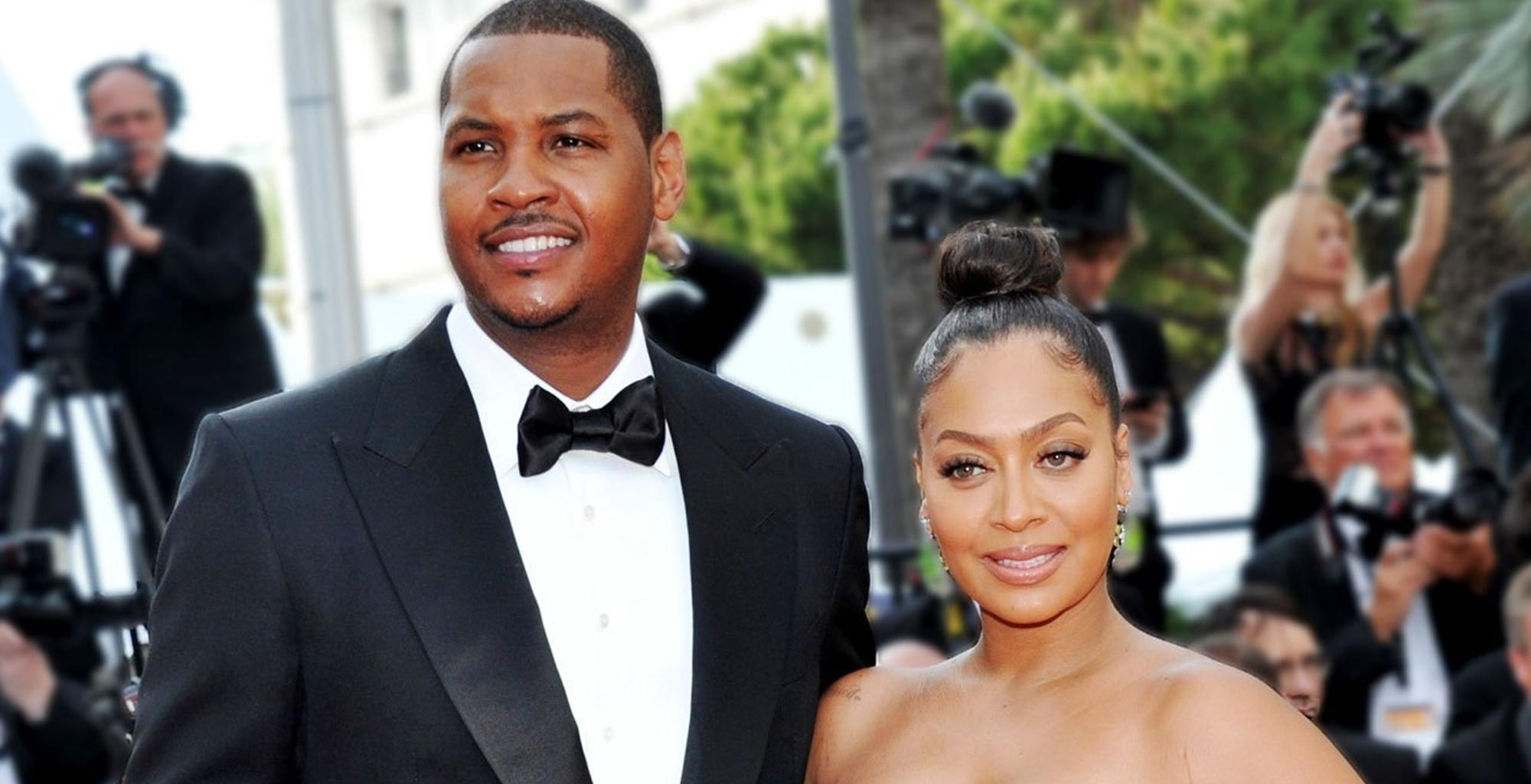 La La Anthony And Estranged Husband Carmelo Anthony Reunite In Adorable Video For Their Son, Kiyan -- Is The Cheating Drama Involving A Model Over?