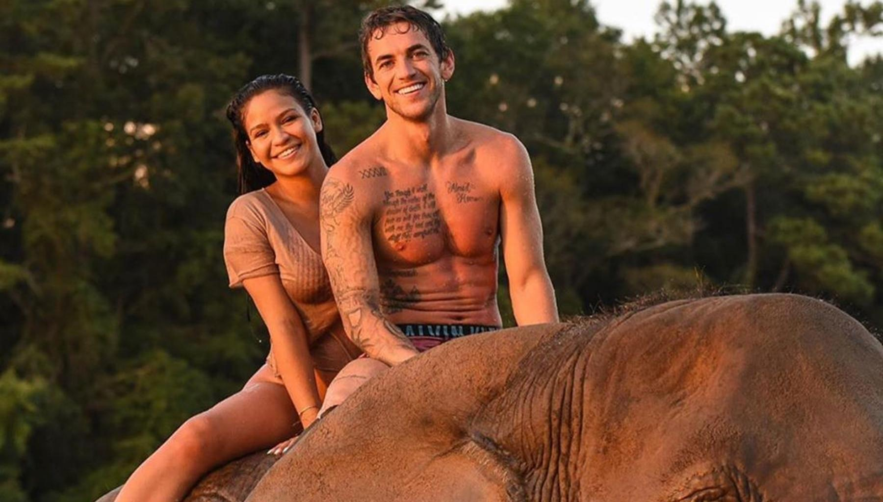 Cassie's Maternity Shoot Pictures With Alex Fine Get Slammed For The Treatment Of Wild Animals -- Did They Do Something Wrong?
