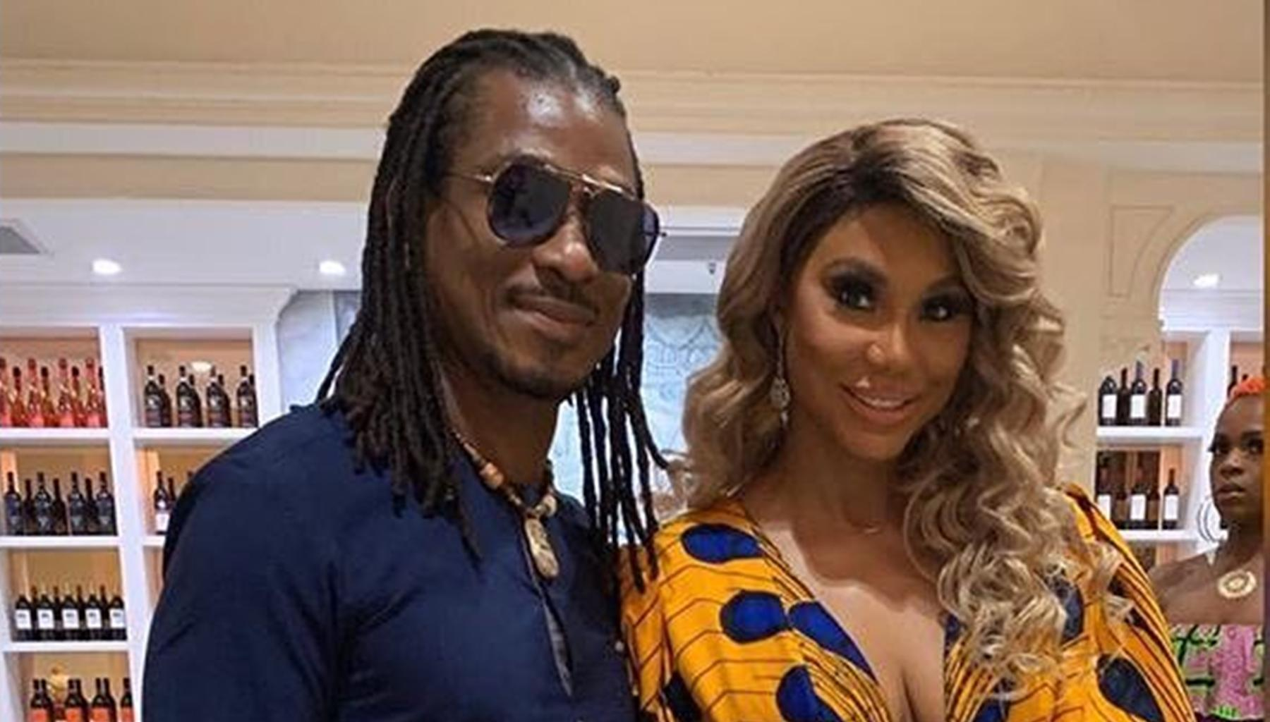 Tamar Braxton And David Adefeso Receive Royal Blessings From Nigerian King In Gorgeous Picture -- Fans Say Their Wedding Is Imminent