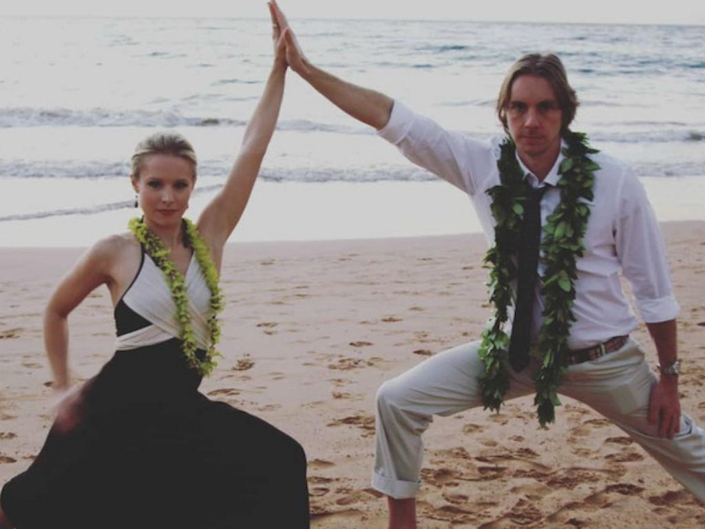 Dax Shepard Pens Birthday Note To Kristen Bell After Daughters Lincoln And Delta Hilariously Guess Her Age