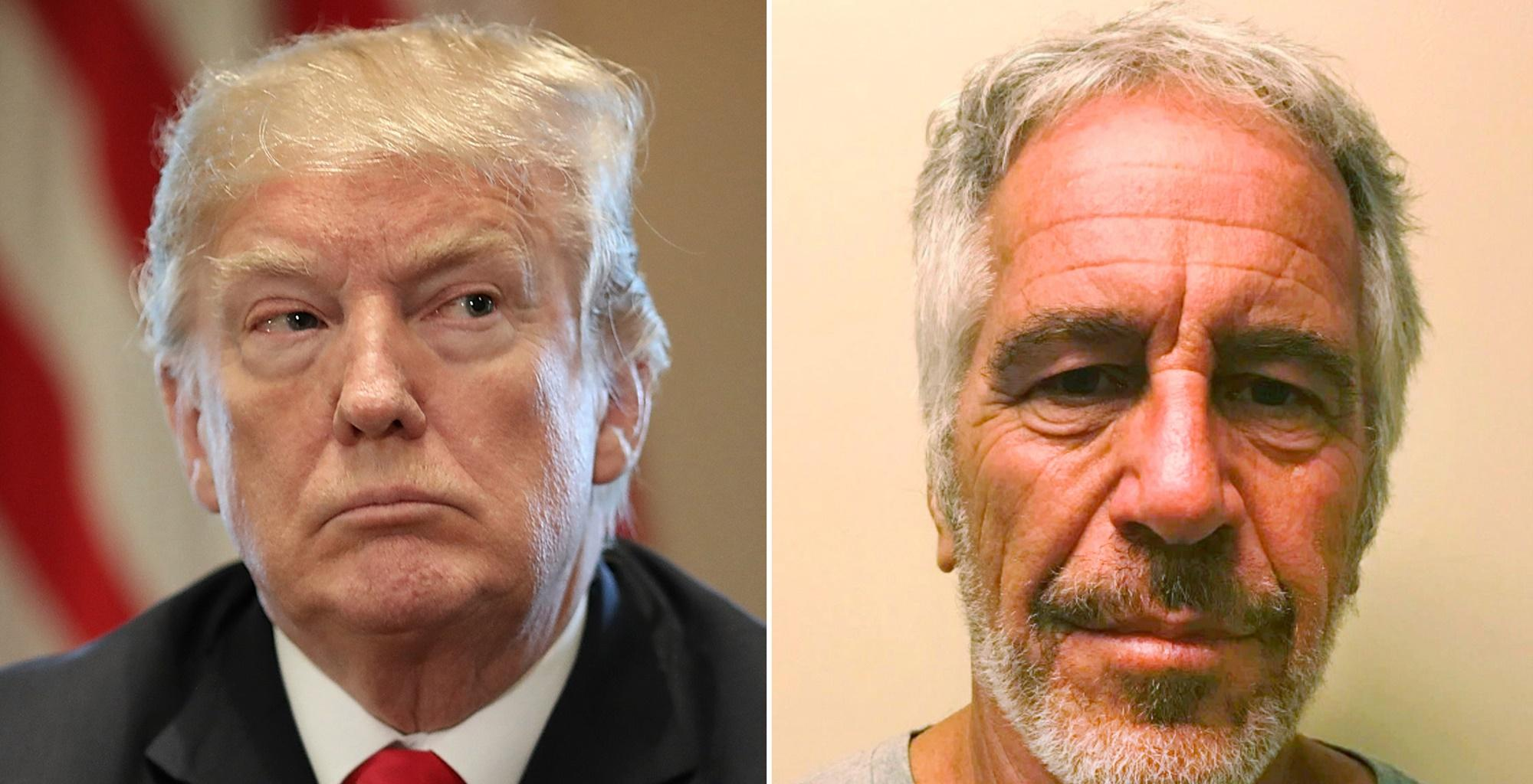 Donald Trump, Who Once Called Jeffrey Epstein A Great Guy, Is Now Trying To Cut All Ties Because Of The Allegations