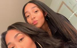 Jordyn Woods And Her 'Twin' Sister Jodie Woods Debut Stunning Hairstyles In New Video -- The Glow-Up Since Leaving The Kardashians Is Astonishing