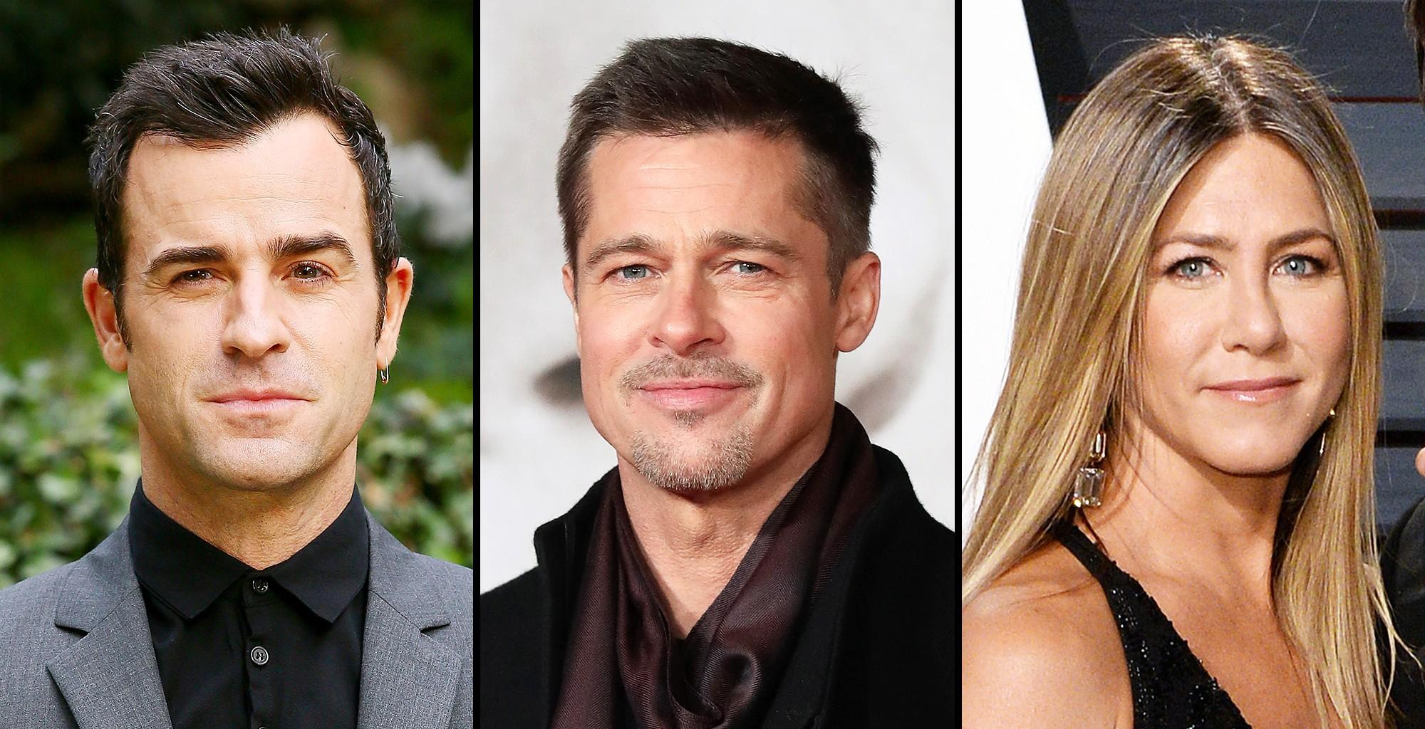 Jennifer Aniston Allegedly Reunited With Her Exes, Justin Theroux And Brad Pitt, For Different Reasons -- Pictures Seem To Confirm The Reports