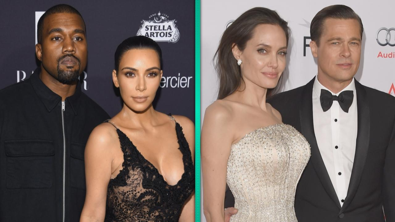 KUWK: Kim Kardashian And Kanye West Attend Hollywood Party With Brad Pitt And Andrew Garfield