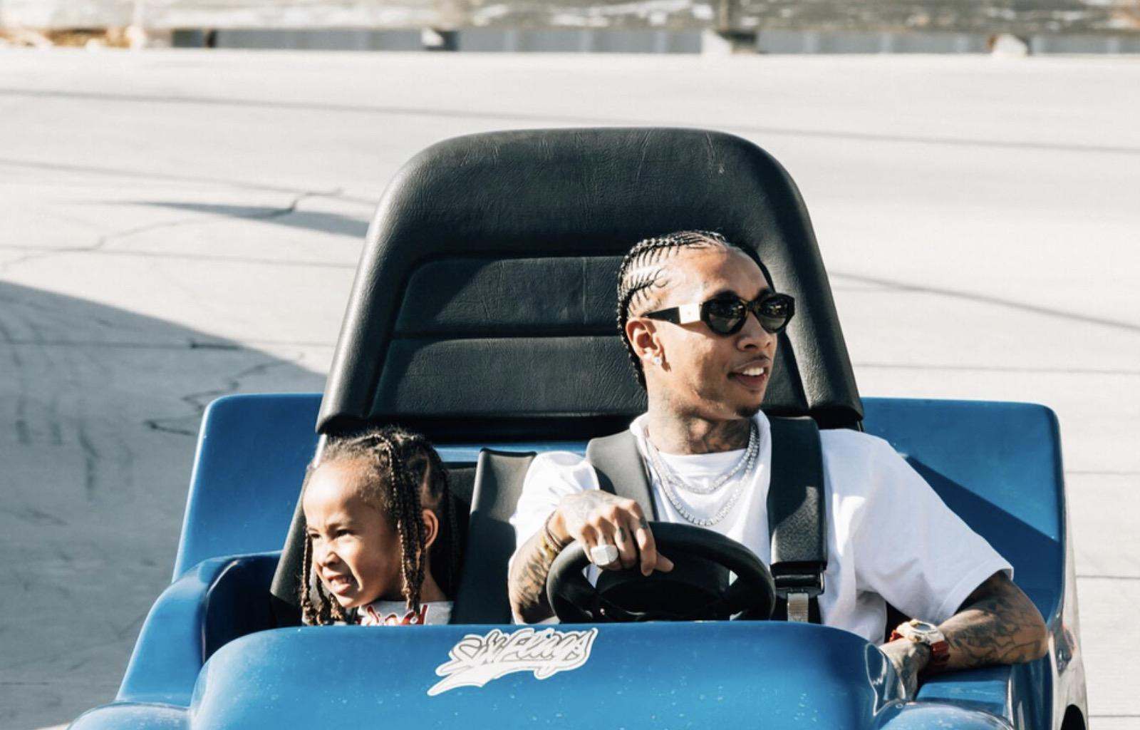 Blac Chyna Poses With Her Son, King Cairo And Fans Are Amazed By How Quickly He's Growing Up