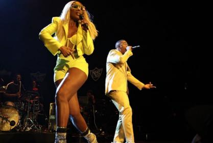 Mary J. Blige And Nas Are Beaming In Yellow As They Kick Off The Royalty Tour