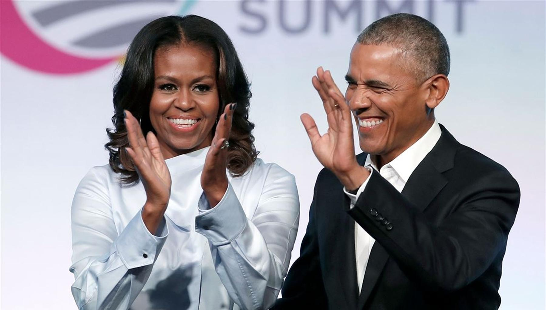 Michelle And Barack Obama Have A Thing Or Two To Say About President Donald Trump's Alleged Racist Comments