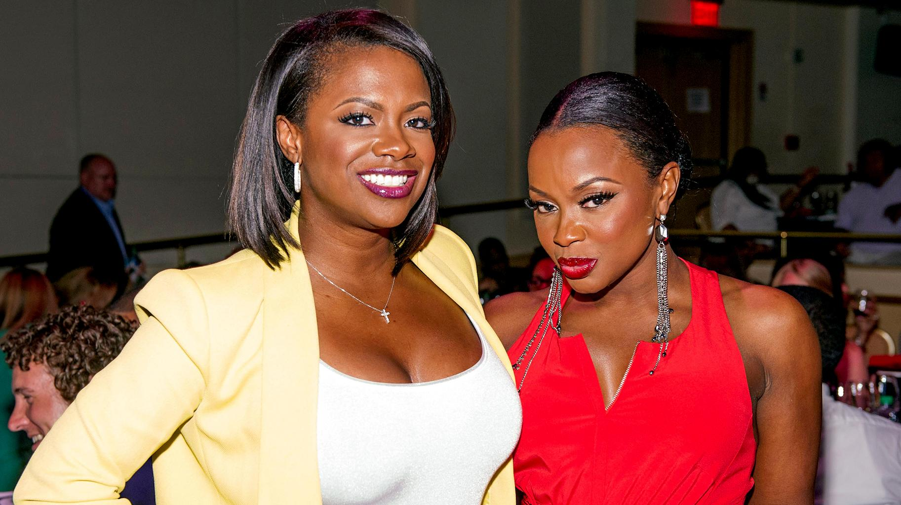 Phaedra Parks Claims RHOA Is 'Not Real' And Shades Kandi Burruss -- Says She Is Amused That She 'Really Impacted Her Life!'