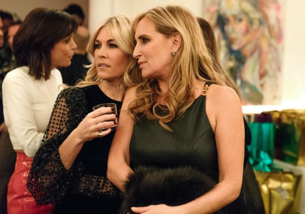 RHONY Frenemies Tinsley Mortimer And Sonja Morgan Get Into A Drunken Dispute After Pride Parade