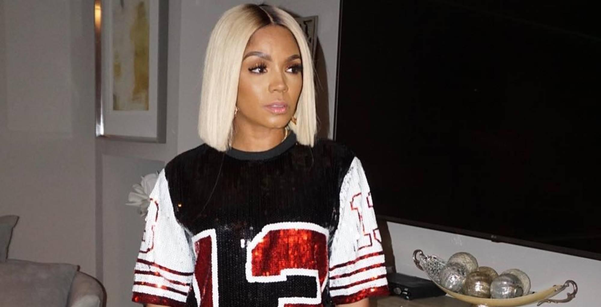 Rasheeda Frost Goes To Work At Pressed Wearing A Natural Look And Fans Are Here For It