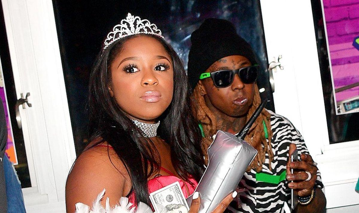 Reginae Carter Says She Has To Teach Her Little Brothers How To Act When They're On Stage With Their Dad, Lil Wayne