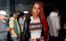 Remy Ma Stuns In PVC Dress Photo -- Papoose's Wife Is Already Celebrating A Life-Changing Event
